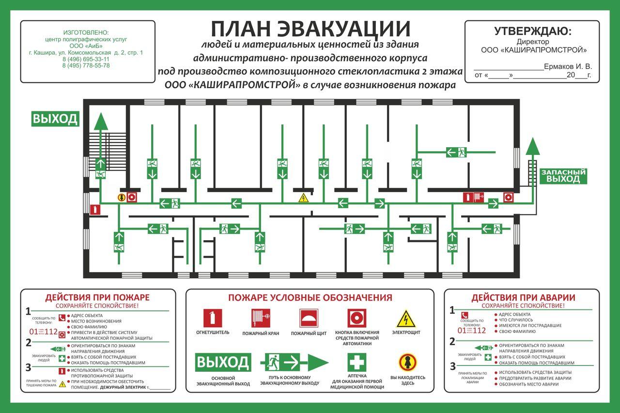 План эвакуации при пожаре. схема эвакуации. эвакуация здания